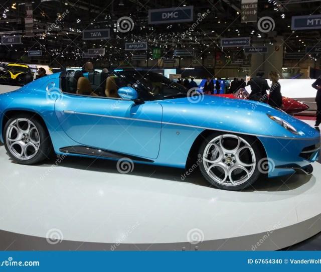 Touring Superleggera Disco Volante Spyder Car