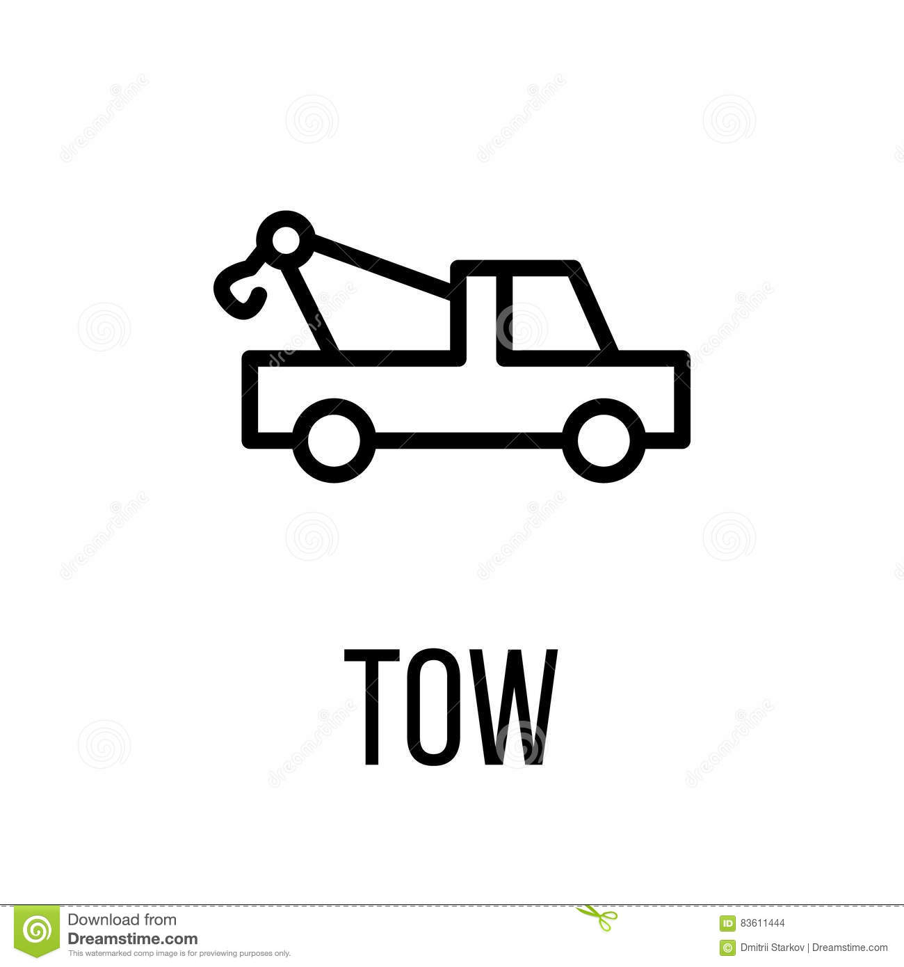 Towtruck Cartoons Illustrations Amp Vector Stock Images