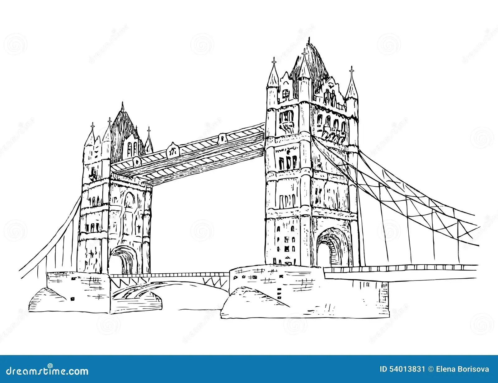 Tower Bridge Stock Vector