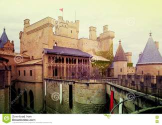 Towers Of Fantasy Gothic Castle Stock Photo Image of antique castle: 79612342