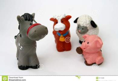 Toy Animals Royalty Free Stock Photos Image