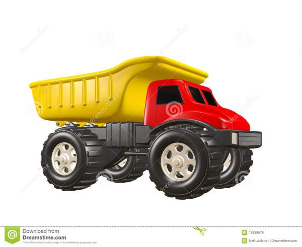 Toy Dump Truck Royalty Free Stock - 19889579