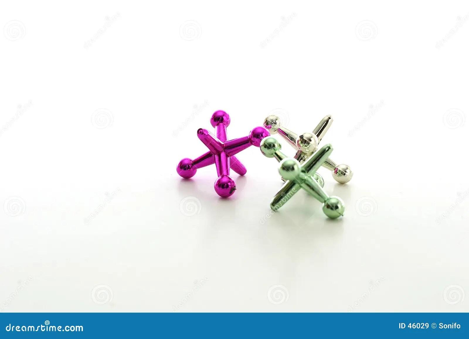 toy jacks stock image