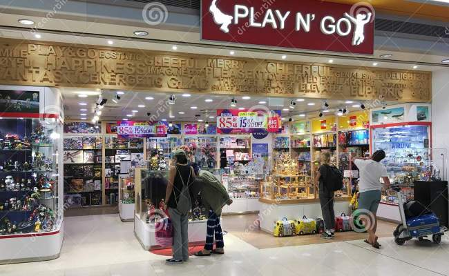 Toy Store In Hong Kong Airport Editorial Stock Photo