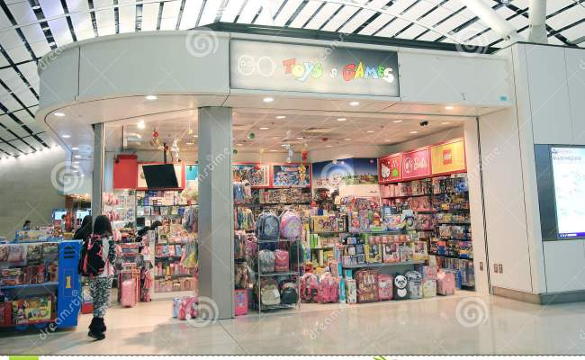 Toys And Games Shop In Hong Kong International Airport