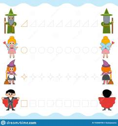 Fairy Tail Worksheet For Preschoolers   Printable Worksheets and Activities  for Teachers [ 1689 x 1600 Pixel ]
