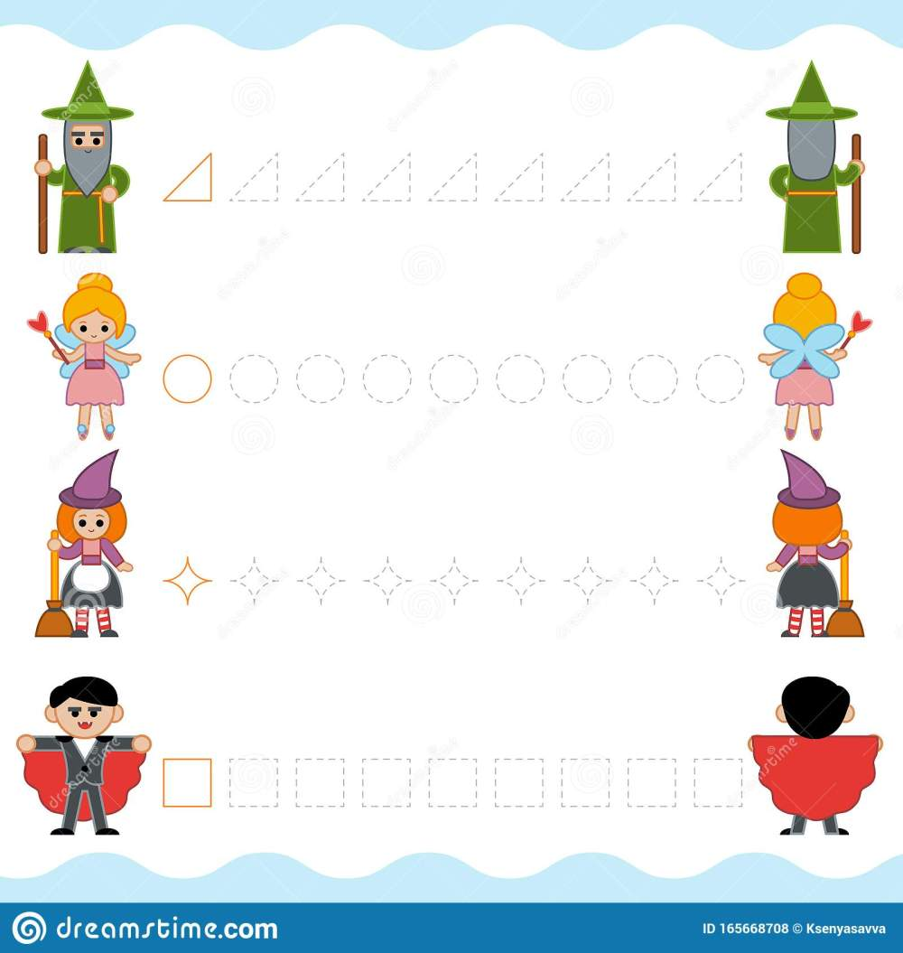 medium resolution of Fairy Tail Worksheet For Preschoolers   Printable Worksheets and Activities  for Teachers