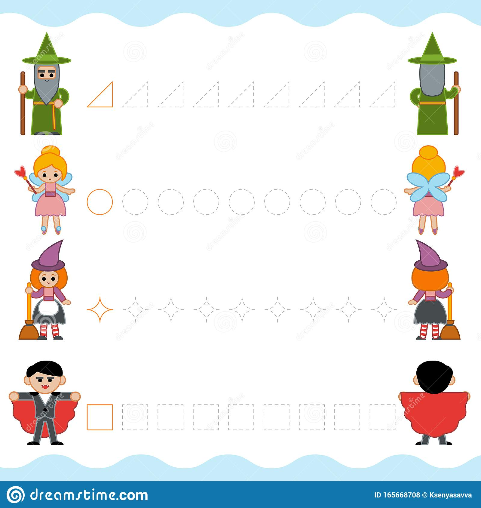 hight resolution of Fairy Tail Worksheet For Preschoolers   Printable Worksheets and Activities  for Teachers