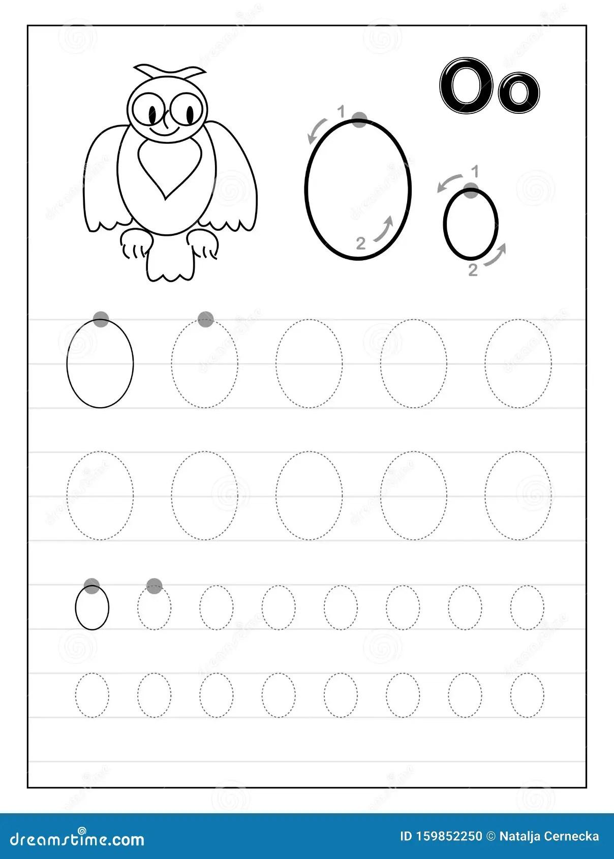 Preschool Worksheet Gallery Letter O Printable Preschool