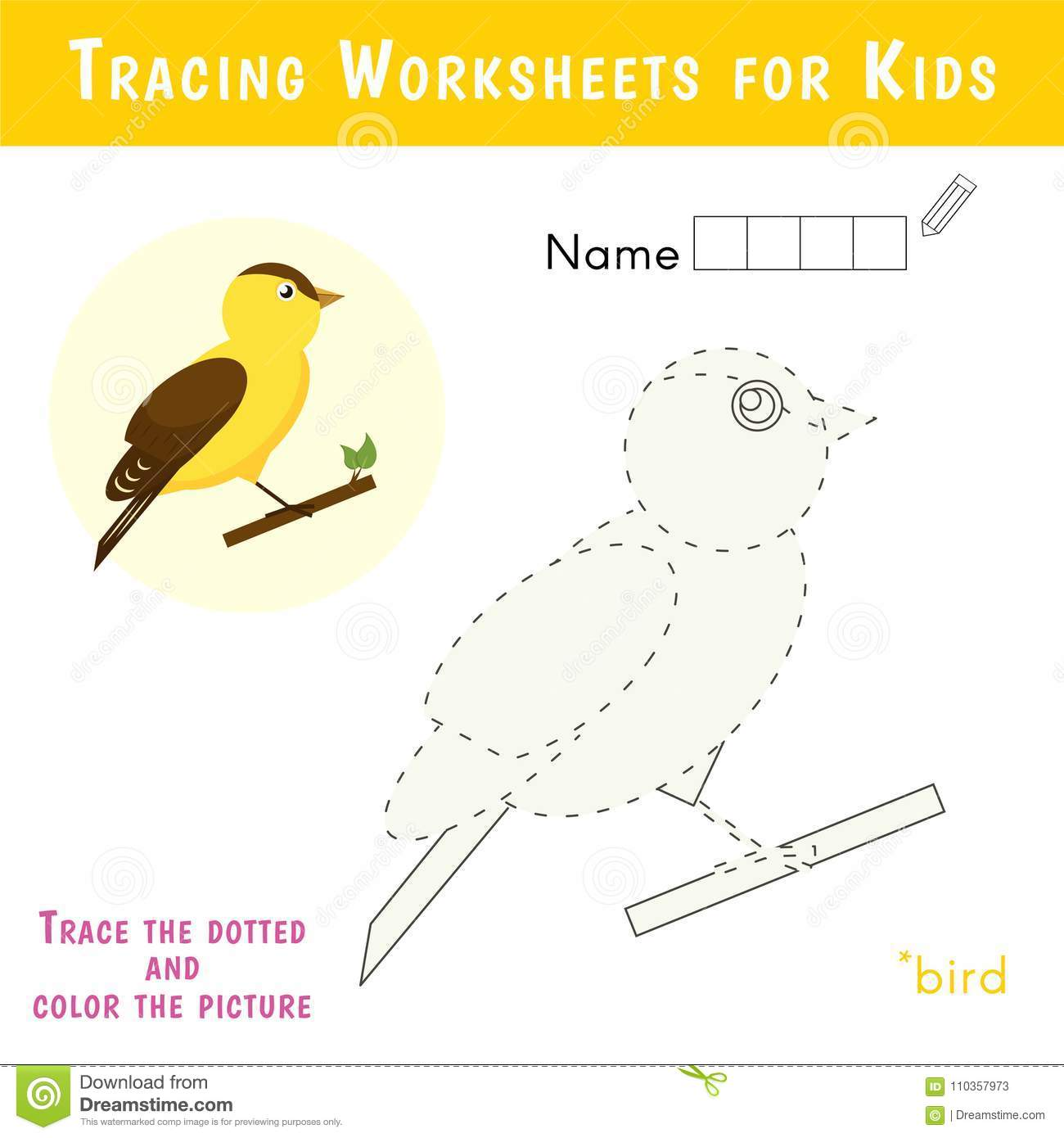 Kids Name Tags With Cute Animals Vector Illustration