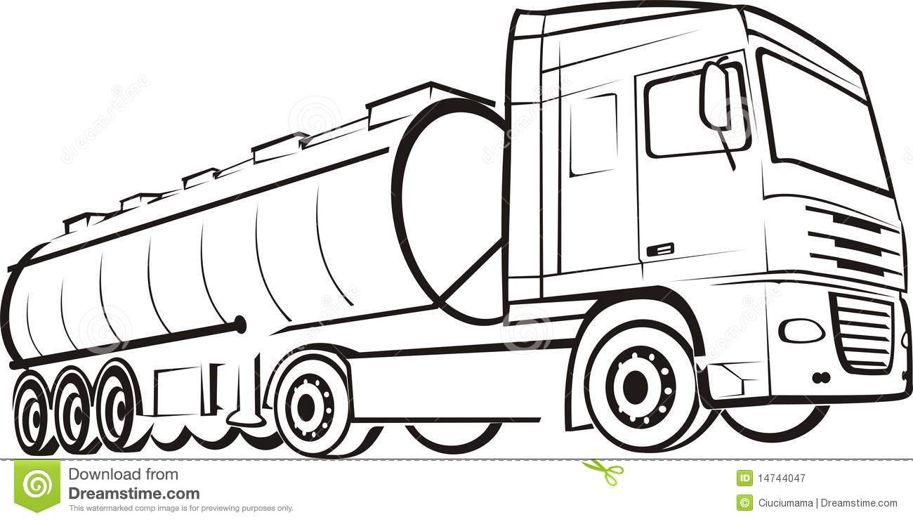 Track & lorry stock vector. Illustration of drive, auto