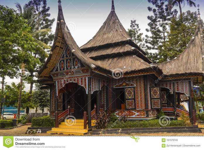 The Tradition And Culture House Of Indonesia Editorial Image Image Of Indonesiaion Sumatra 101570745