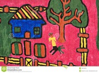 Traditional African Children Art Stock Photos - Image ...