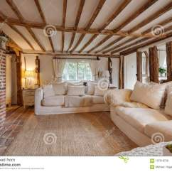 Traditional English Living Room Design Show Me Decorate My Cottage Reception Stock Photo Image Of 16th Century With Cast Iron Fire Beutifully Decorated In Pastel Colours And Furnishings Expose Brick Floor