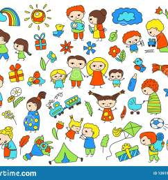 traditional family with parents and children child birthday baby shower vector clipart parenthood and [ 1600 x 1156 Pixel ]