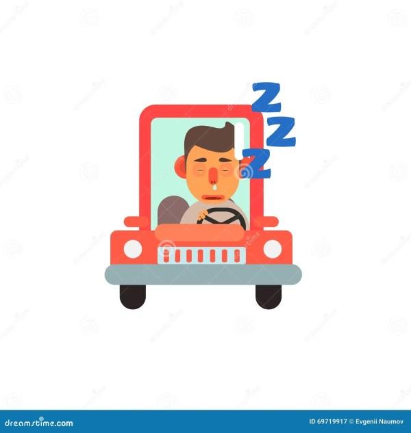 Traffic Code Sleeping Wheel Stock Vector