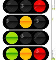 traffic light traffic lamp icon in set semaphore with green y [ 1122 x 1300 Pixel ]