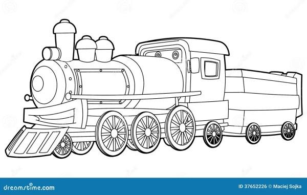 train coloring # 13