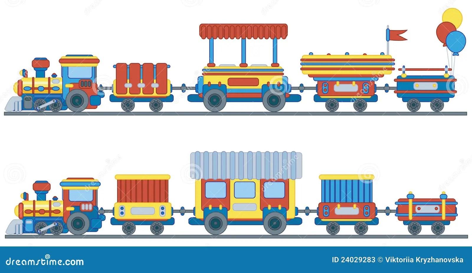 Train For Kids Design Stock Vector Illustration Of