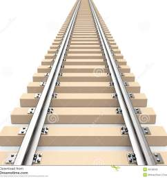 3d generated picture of a train track [ 1300 x 1170 Pixel ]