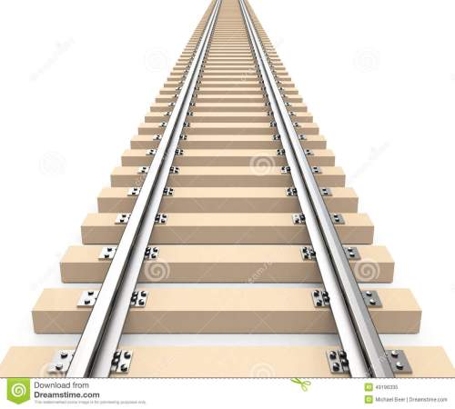 small resolution of 3d generated picture of a train track