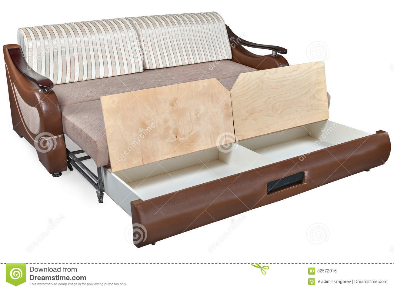 transforming sofa bed u shaped uk john lewis transformer combination furniture stock photo