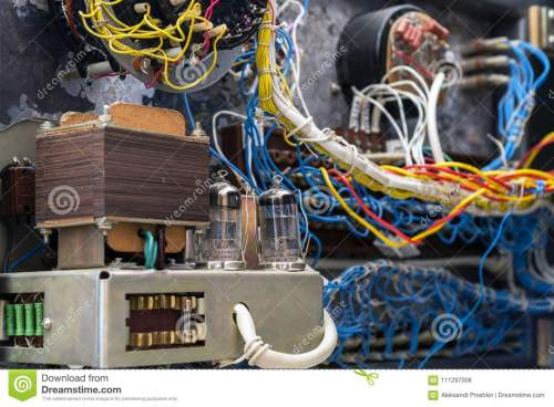 small resolution of transformer radio tubes and wires