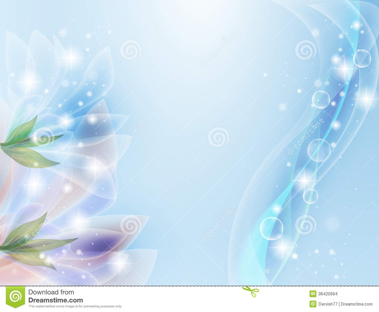 Translucent Flowers Stock Images Image 36420994