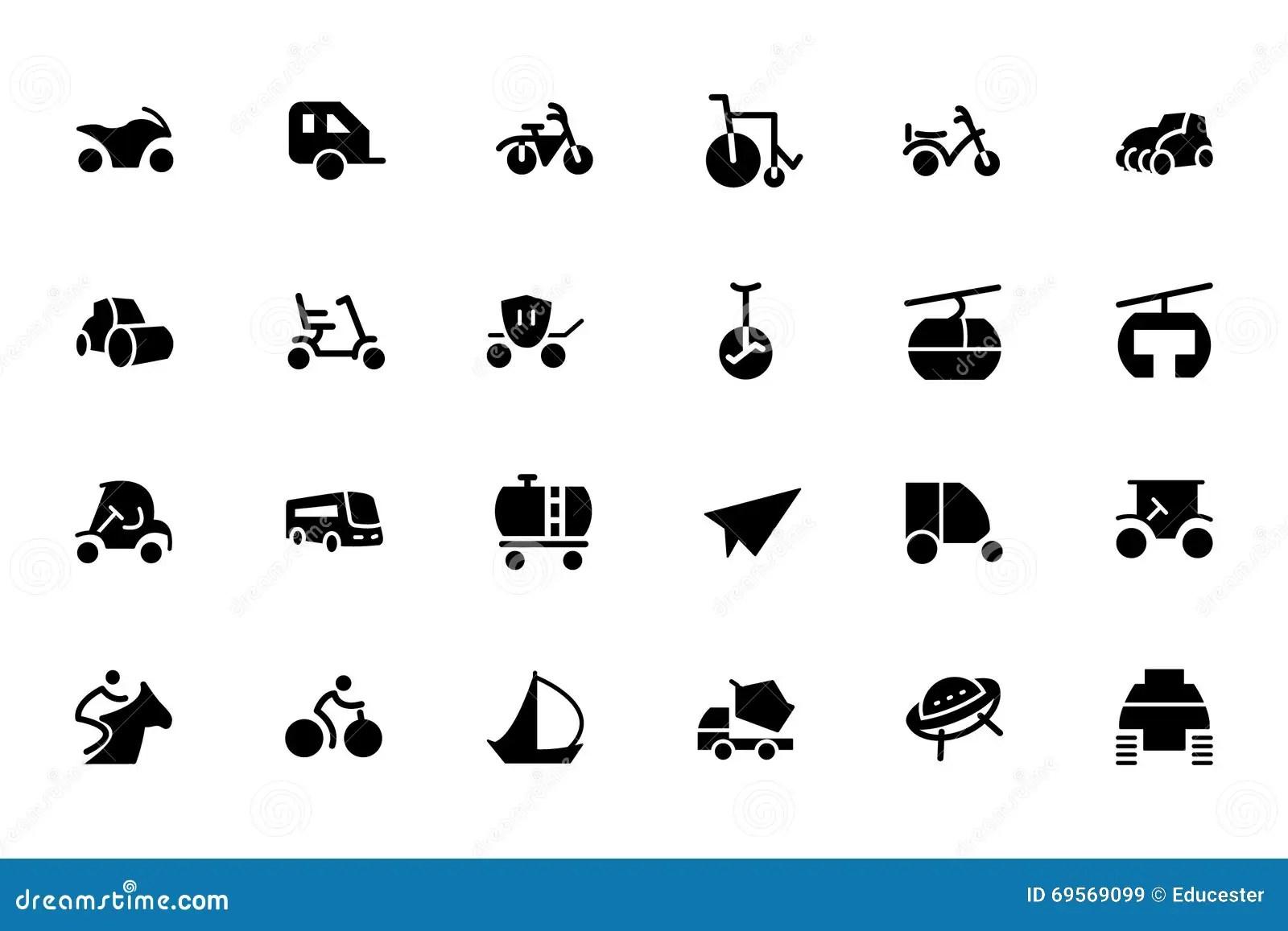 Transport Vector Icons 4 Stock Illustration Illustration