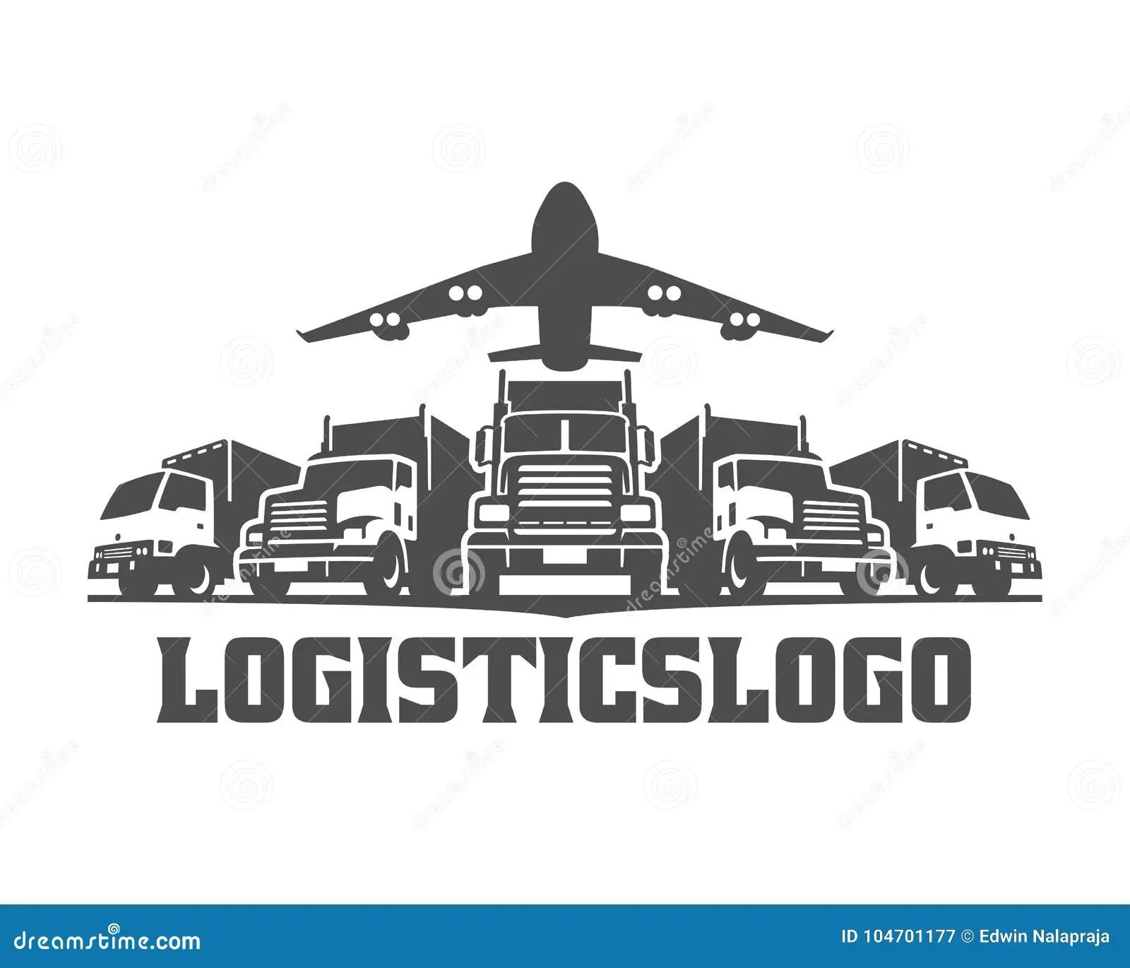 Transporte O Logotipo Logotipo Da Carga Caminhoes Da