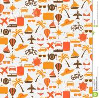 Travel seamless pattern stock vector. Image of cruise ...