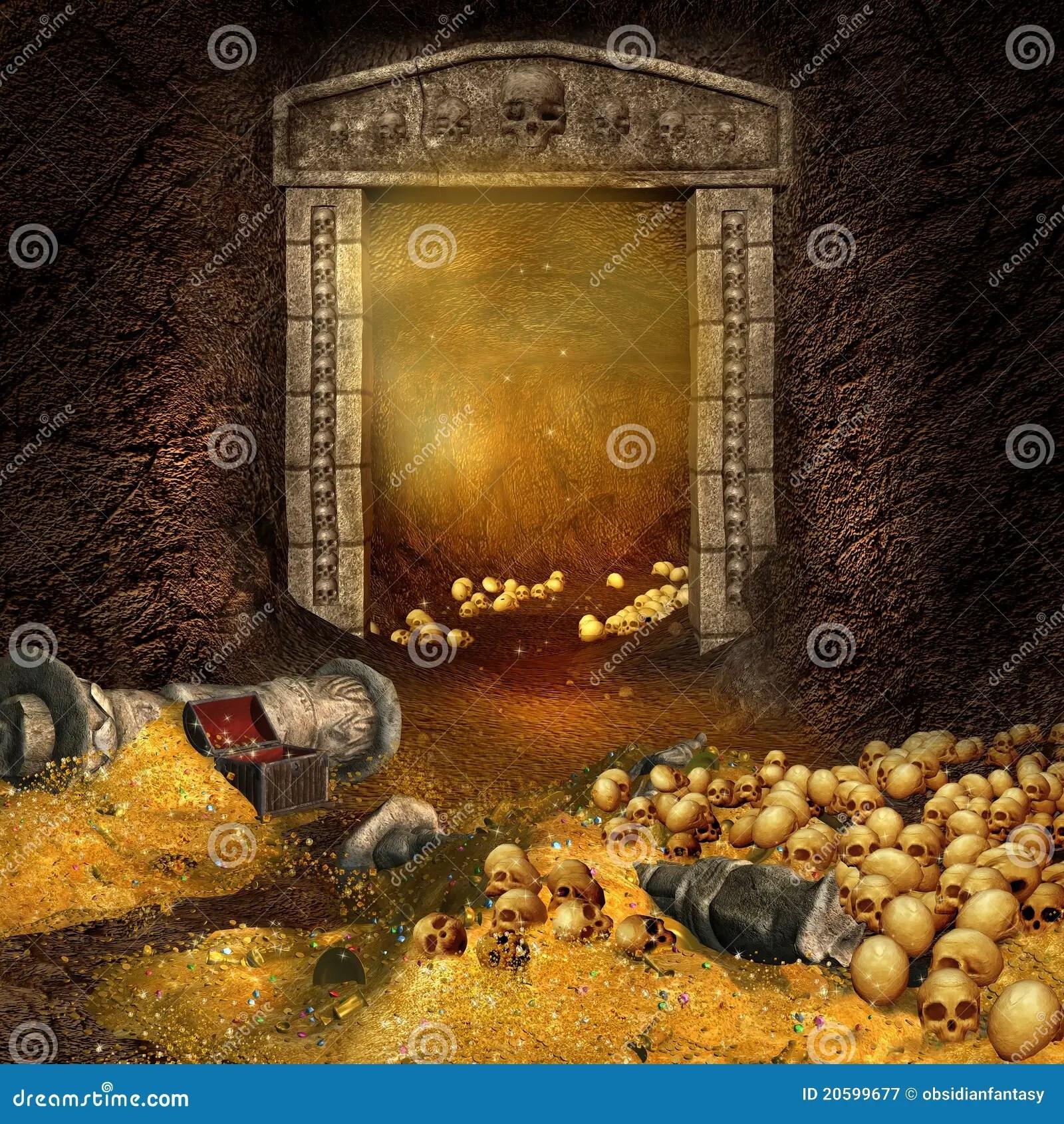 Royalty Free Stock Photography Treasure Cave
