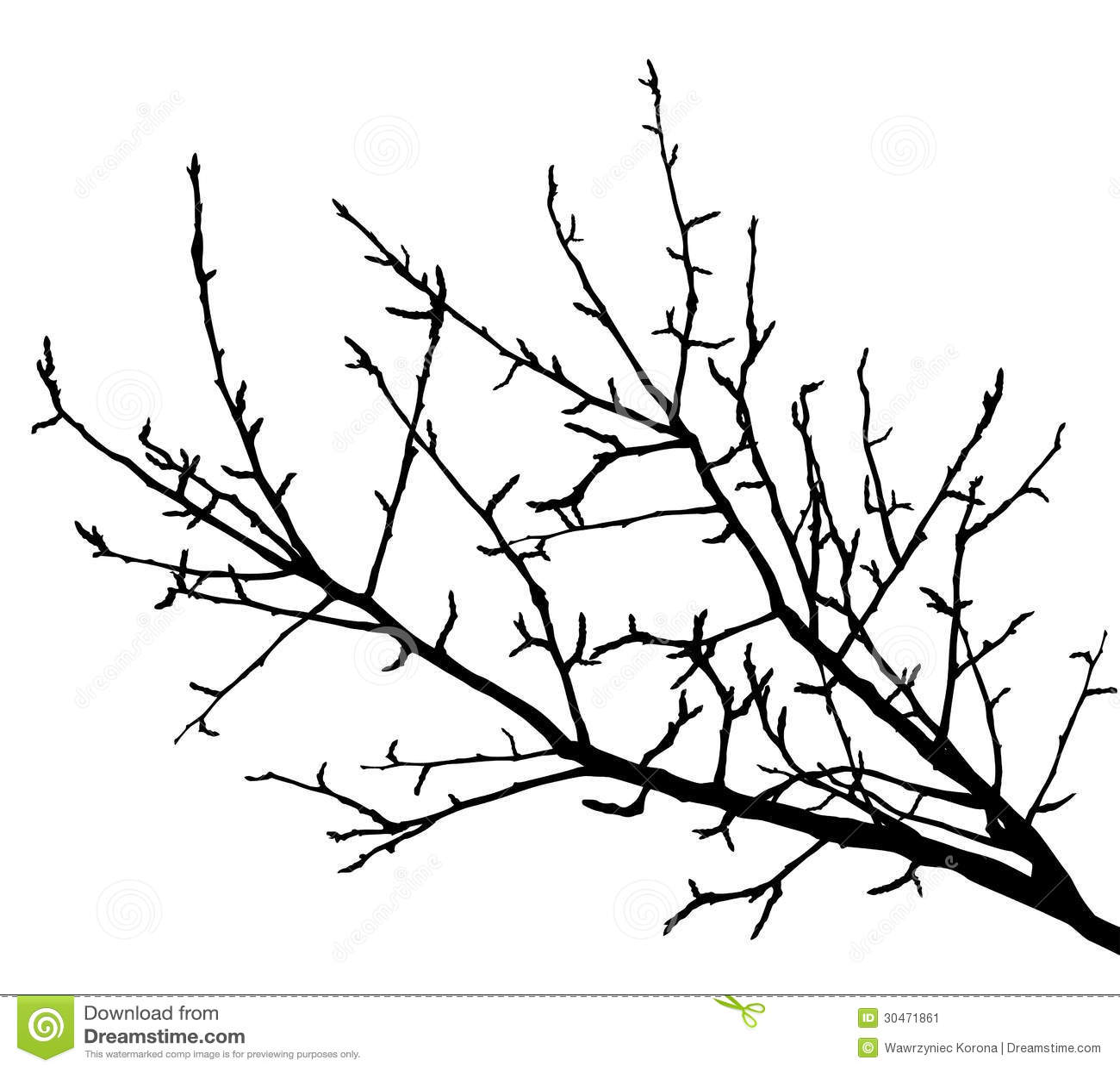 branches branching tree diagram bathtub drain installation silhouette vector illustration stock