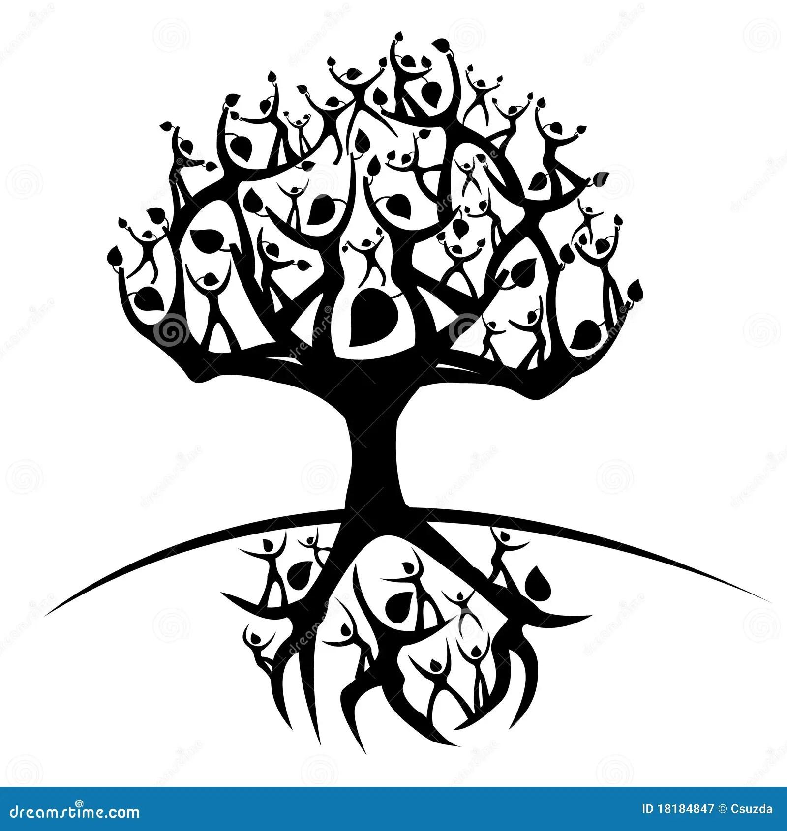 Tree of life stock vector. Illustration of symbol, grow