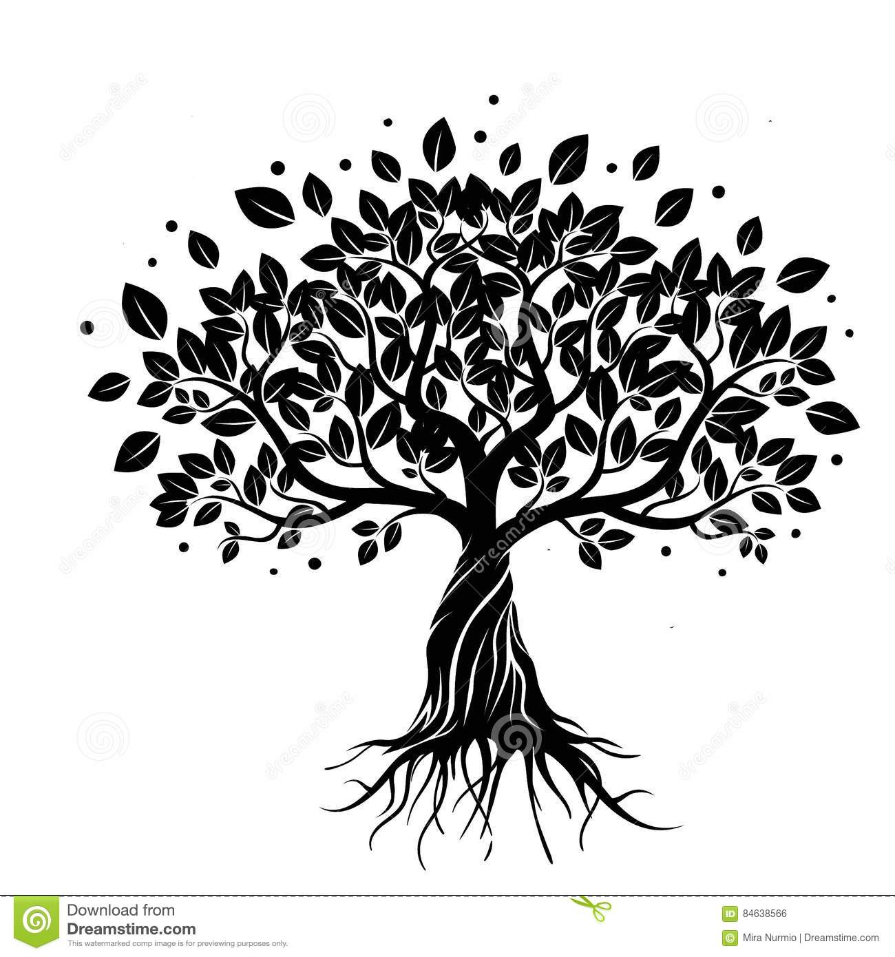 Tree Of Life Stock Illustration Illustration Of Roots