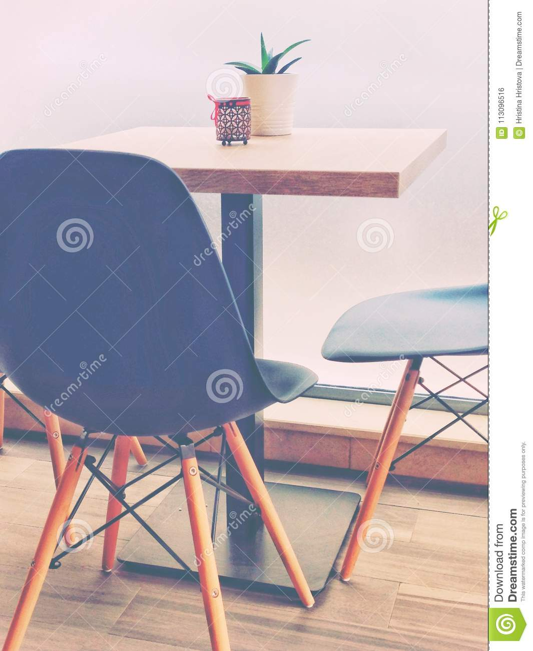 Cafeteria Chairs Trendy Cafeteria Table With Chairs Stock Photo Image Of Chairs