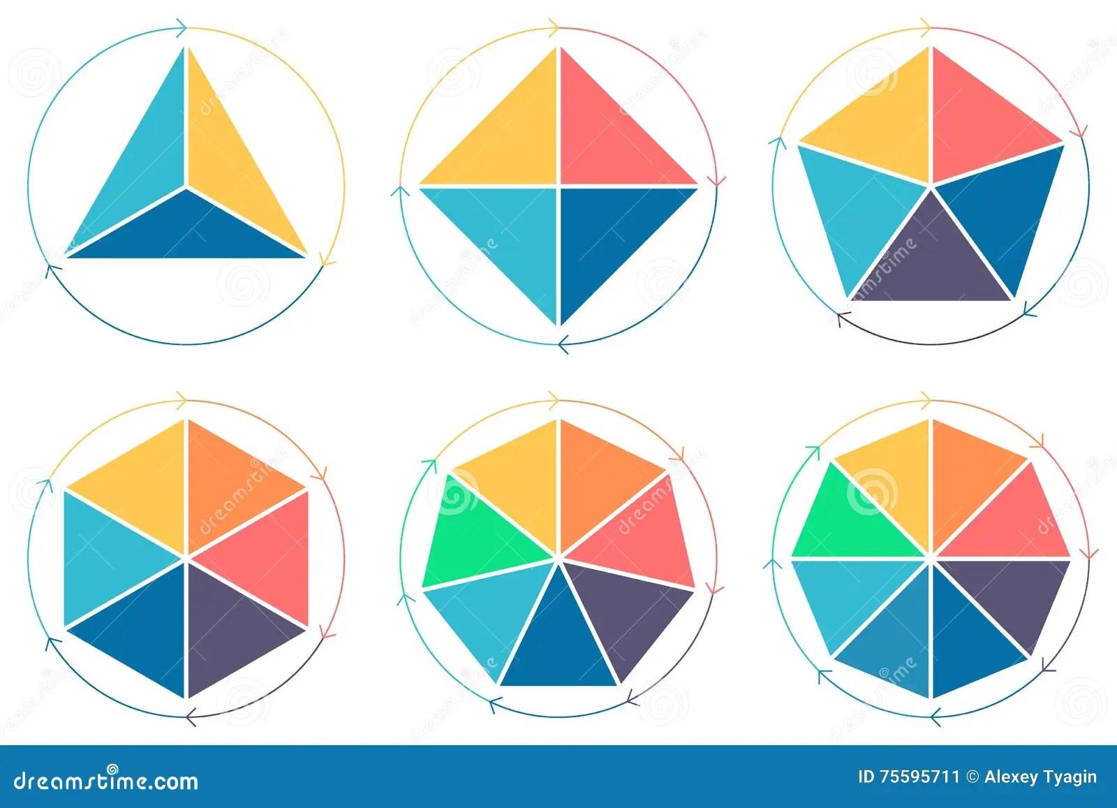Triangle Square Pentagon Hexagon Heptagon Octagon For