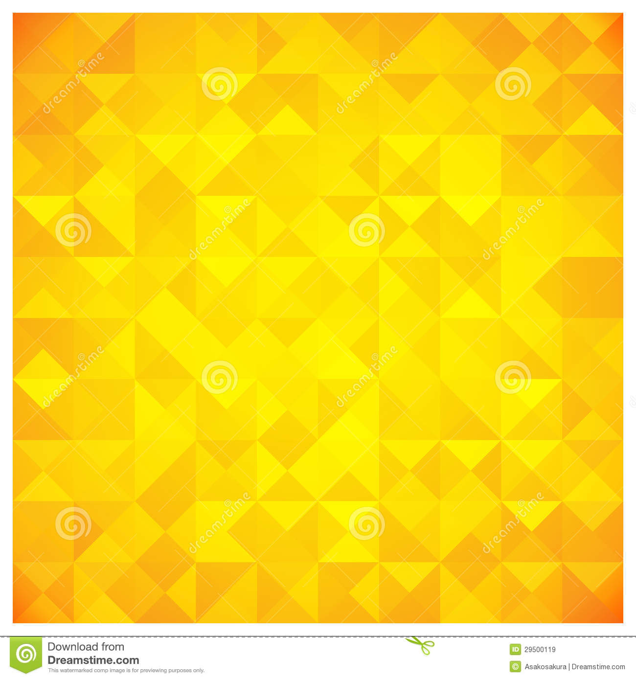 Free Fall Colors Wallpaper Triangle And Square Yellow Abstract Pattern Royalty Free