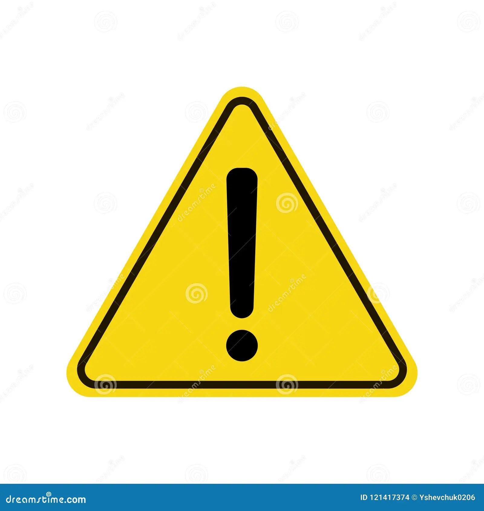 Triangle Warning Sign Exclamation Sign Warning Roadsign