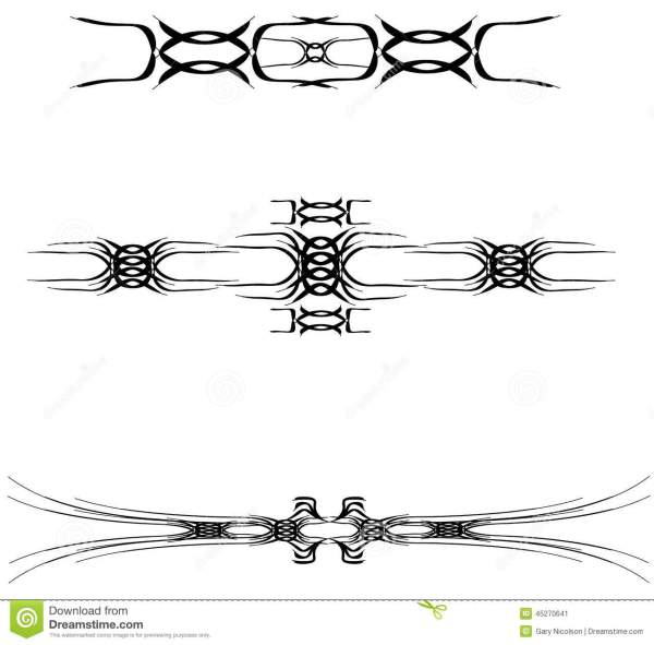 tribal tattoo design stock vector