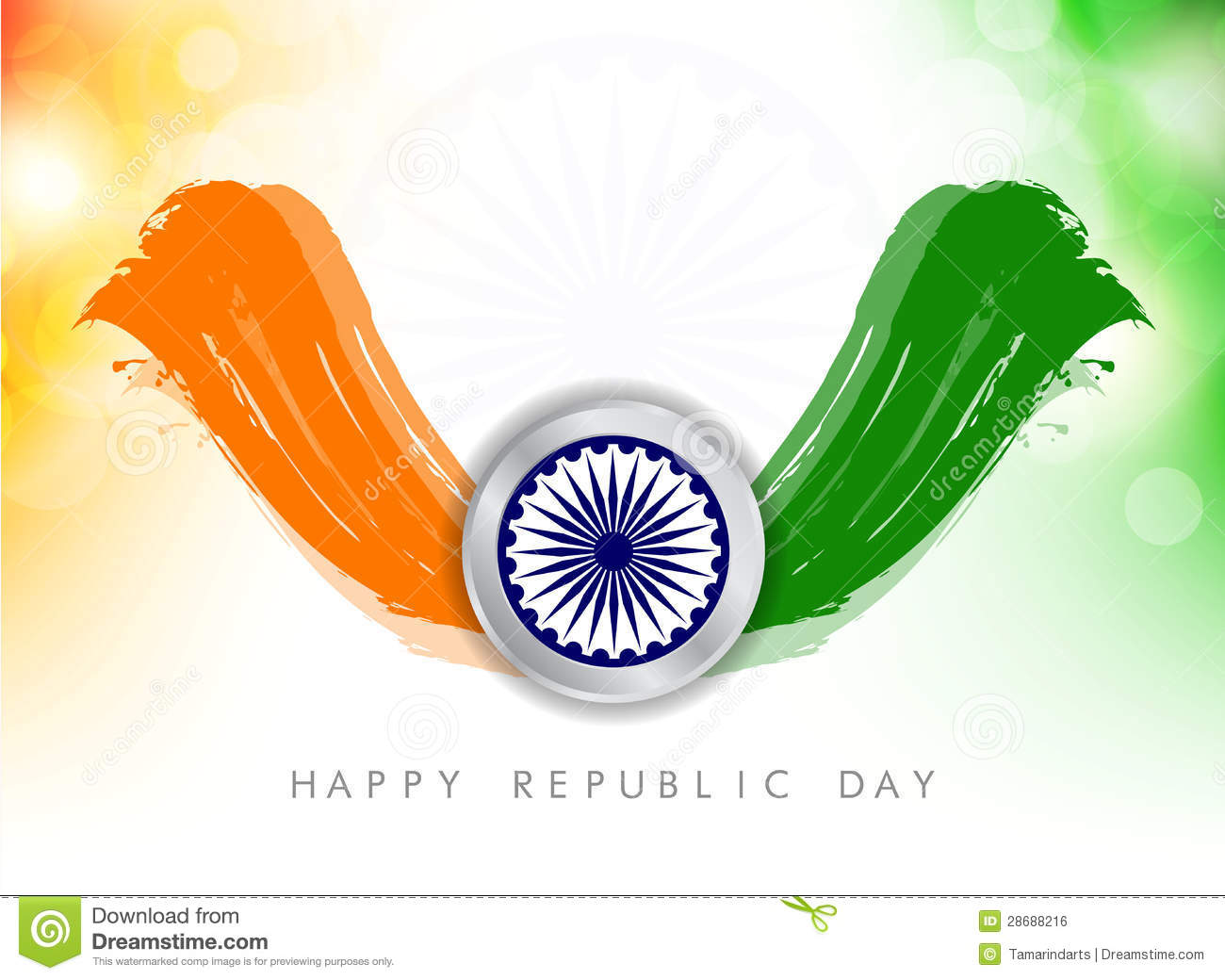 India Flag Wallpaper 3d Tricolor Background For Indian Republic Day Royalty Free