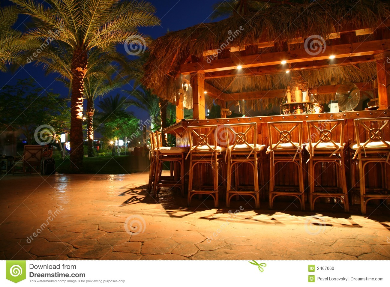Tropical bar stock photo Image of romantic relax exotic