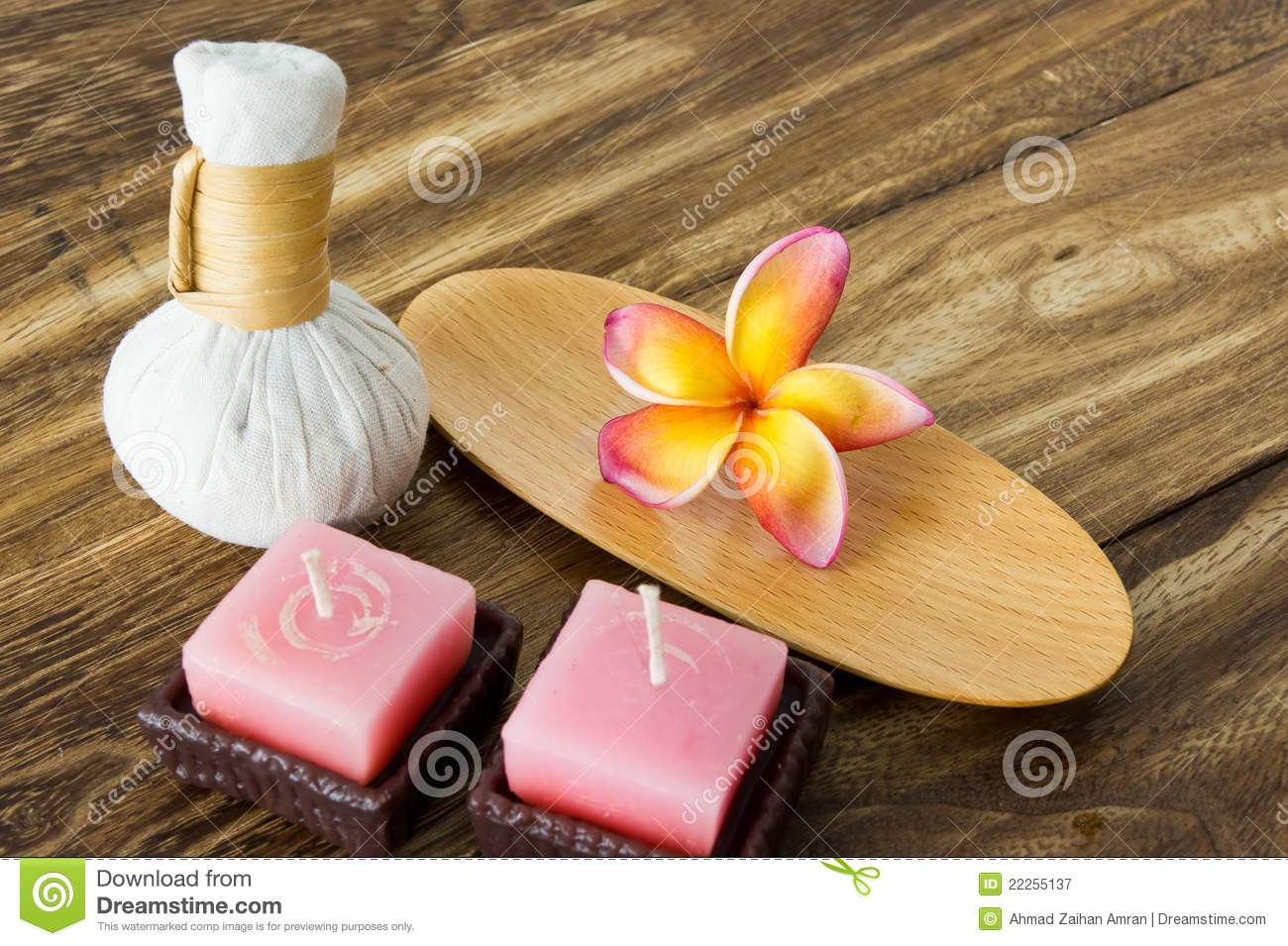 Tropical spa concept stock image. Image of flower. pink - 22255137