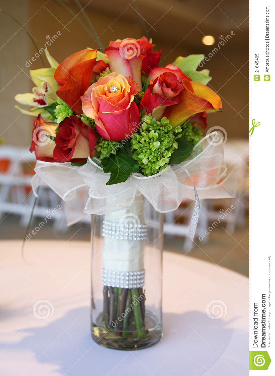 Tropical Wedding Bouquet Royalty Free Stock Photo  Image 21645405