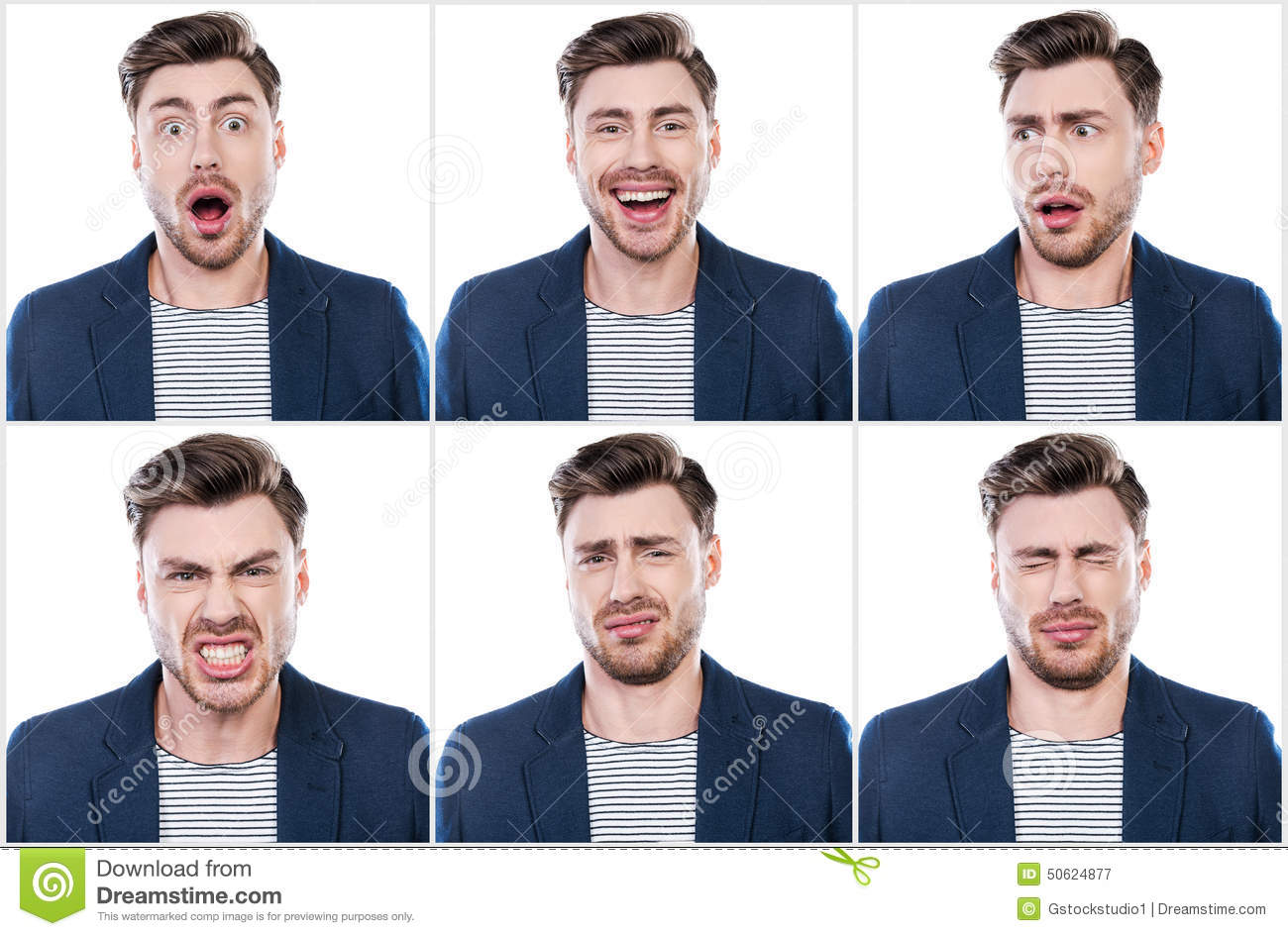 True Emotions Stock Image Image Of Fear Face
