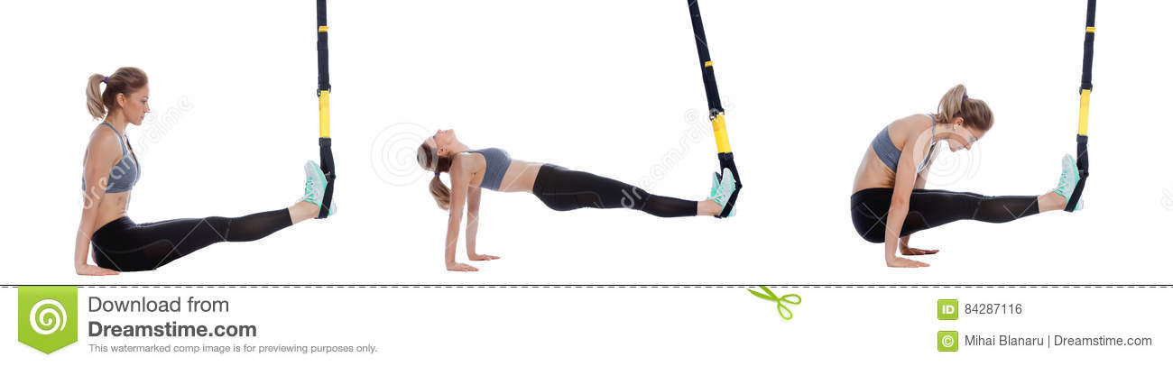 trx supine plank with