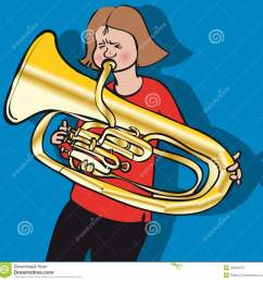 girl playing tuba stock illustrations 2 girl playing tuba stock illustrations vectors clipart dreamstime [ 1300 x 1318 Pixel ]