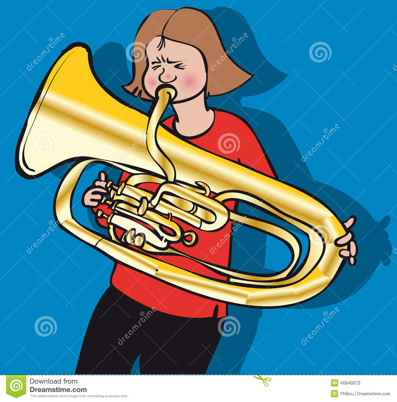 hight resolution of girl playing tuba stock illustrations 2 girl playing tuba stock illustrations vectors clipart dreamstime