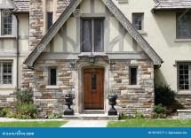English Tudor Style House