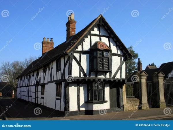 Tudor Style Long House Stock Of Cottage